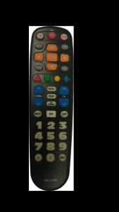Big Button Remote - Transparent background