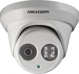 Hikvision security camera for business